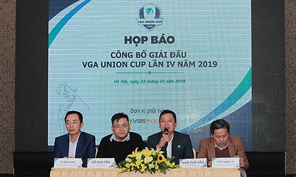 VGA công bố hệ thống thi đấu các giải golf nghiệp dư Việt Nam năm 2019 và Union Cup 2019
