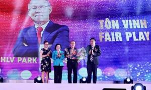 Giải Fair-play 2018 vinh danh Quang Hải, Văn Hậu, Tiến Dũng và Đức Chinh