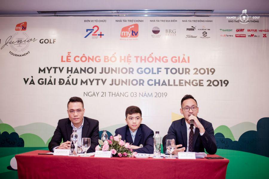 Hệ thống giải Trẻ MyTV Hanoi Junior Golf Tour nâng tầm quy mô tổ chức