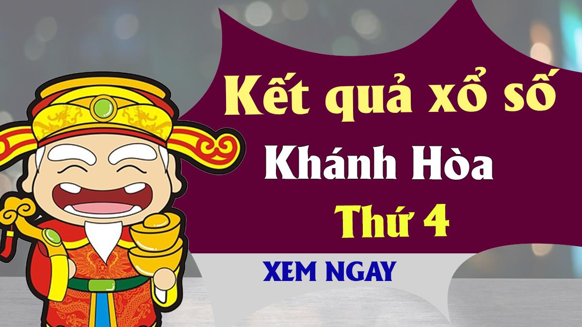 XSKH 3/4 – KQXSKH 3/4 - Xổ số Khánh Hòa ngày 3 tháng 4 năm 2019