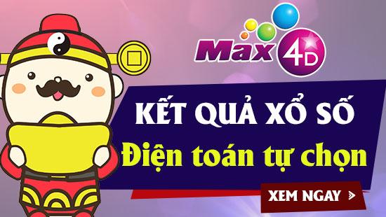 XS MAX 4D – VIETLOTT MAX 4D – Kết quả xổ số MAX 4D ngày 4/4/2019