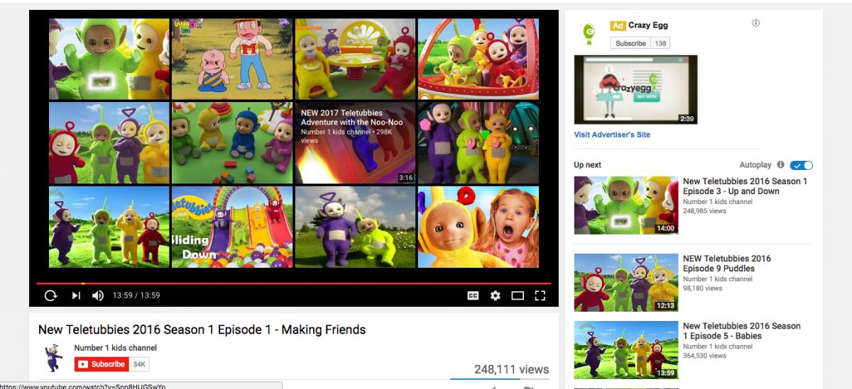 Thuật toán trình bày nội dung của youtube