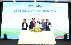 FLC Biscom hợp tác với Misa phát triển cộng đồng golfer Việt Nam