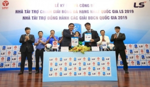 Ra mắt Nhà tài trợ chính Giải HNQG LS 2019
