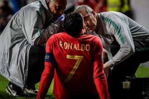 HLV Max Allegri báo tin buồn về Ronaldo