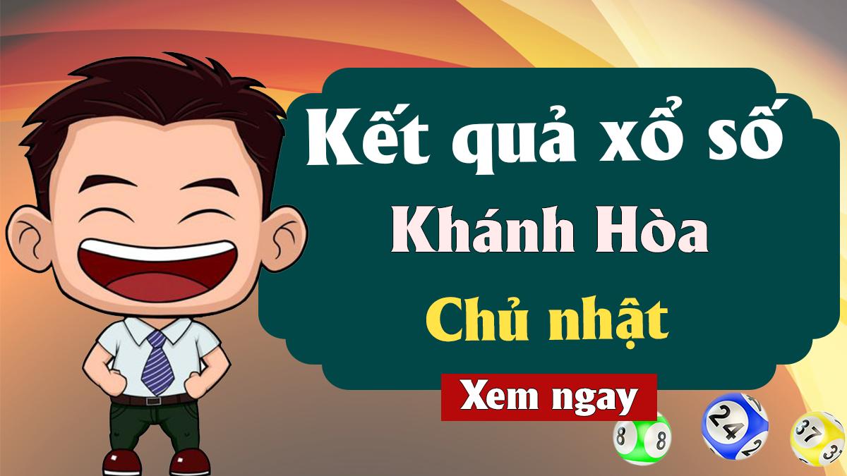 XSKH 21/4 – KQXSKH 21/4 - Xổ số Khánh Hòa ngày 21 tháng 4 năm 2019