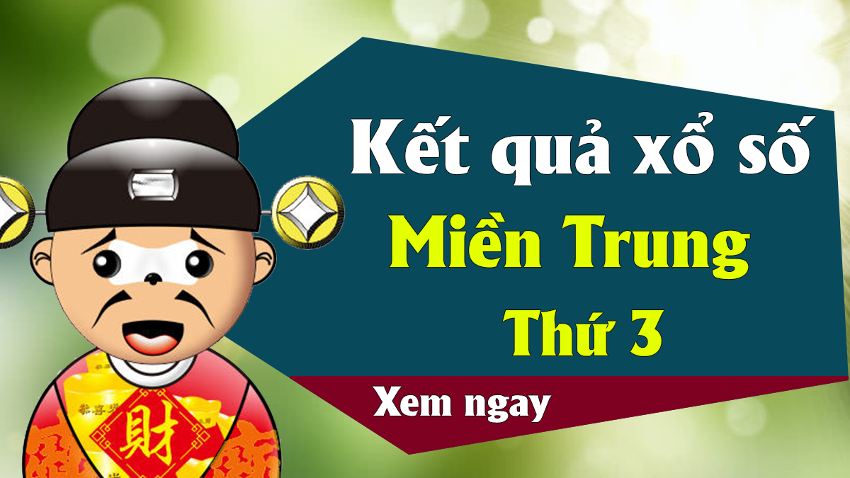 XSMT 16/4 – KQXSMT 16/4 – Kết quả xổ số miền Trung ngày 16 tháng 4