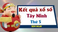 XSTN 18/4 - KQXSTN 18/4 - Xổ số Tây Ninh ngày 18 tháng 4 năm 2019