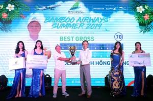 Golfer Đinh Hồng Phong lên ngôi vô địch Bamboo Airways Summer 2019
