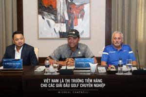 Golfer Michael Campbell hợp tác đưa PGA Tour về Việt Nam