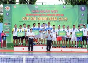 Kết thúc giải Quần vợt VĐ Đồng đội trẻ & Đồng đội QG: CLB Hải Đăng Tây Ninh và Hưng Thịnh – TPHCM 1 lên ngôi