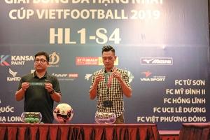 10 câu lạc bộ tham dự Giải Bóng đá hạng Nhất - Cúp Vietfootball 2019