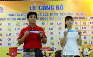 Công bố giải Bóng đá Nữ VĐQG - Cúp Thái Sơn Bắc 2019