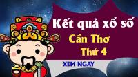 XSCT 22/5 - KQXSCT 22/5 - Xổ số Cần Thơ ngày 22 tháng 5 năm 2019