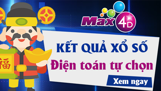 XS MAX 4D – VIETLOTT MAX 4D – Kết quả xổ số MAX 4D ngày 16/5/2019