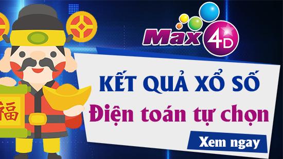XS MAX 4D – VIETLOTT MAX 4D – Kết quả xổ số MAX 4D ngày 4/6/2019