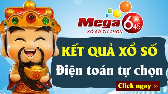 XS MEGA 6/45 VIETLOTT – Kết quả xổ số MEGA 6/45 hôm nay ngày 15/5/2019