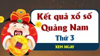 XSQNM 21/5 – KQXSQNM 21/5 - Xổ số Quảng Nam hôm nay ngày 21/5/2019