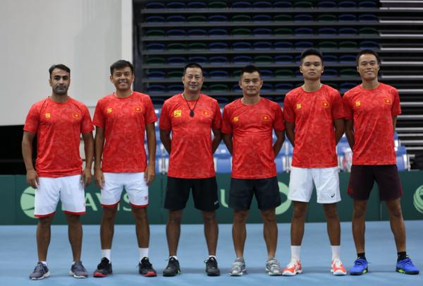 ĐT quần vợt Việt Nam là hạt giống số 1 bảng A giải Davis Cup Nhóm III