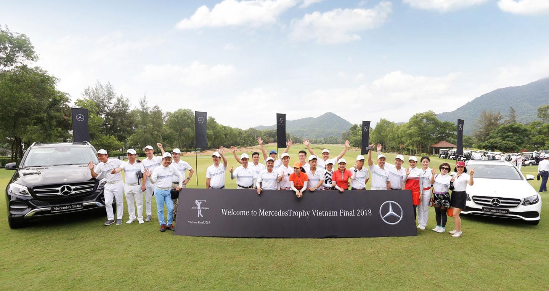 Hơn 220 golfers tham dự VCK Quốc gia giải golf MercedesTrophy Việt Nam 2019