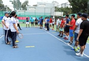 Hơn 30 học viên dự khóa đào tạo HLV Quần vợt cấp 2 Quốc gia năm 2019