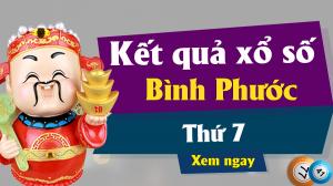 XSBP 8/6 – KQXSBP 8/6 – Xổ số Bình Phước ngày 8 tháng 6 năm 2019