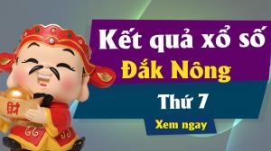 XSDNO 8/6 – KQXSDNO 8/6 – Xổ số Đắk Nông ngày 8 tháng 6 năm 2019