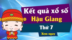 XSHG 8/6 – KQXSHG 8/6 – Xổ số Hậu Giang ngày 8 tháng 6 năm 2019