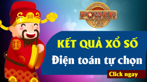 VIETLOTT POWER 6/55 - Xổ số POWER 6/55 - KQ POWER 6/55 ngày 8/6