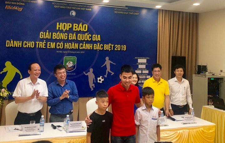 Chuẩn bị diễn ra giải Bóng đá QG dành cho trẻ em có hoàn cảnh đặc biệt năm 2019
