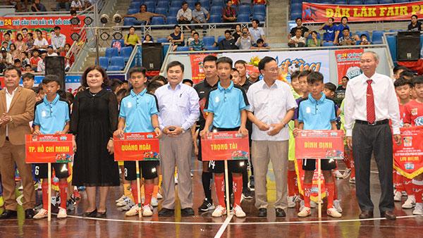 Chính thức Khai mạc VCK giải Bóng đá Nhi đồng Toàn quốc – Cúp Kun Siêu Phàm 2019