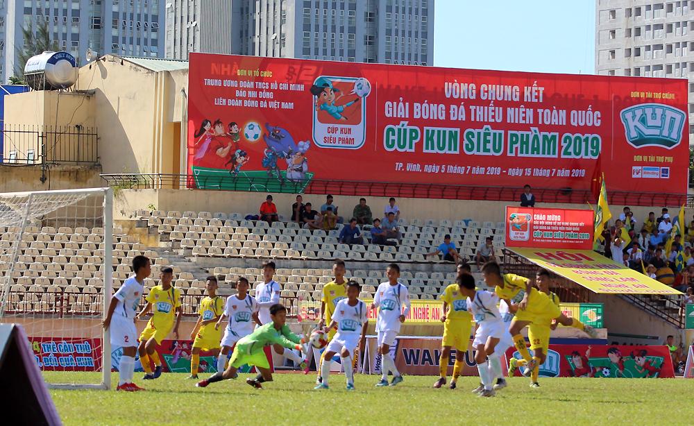 Giải bóng đá Thiếu niên Toàn quốc – Cúp Kun siêu phàm 2019 chính thức khởi tranh