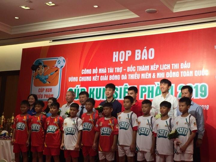 28 đội bóng tham dự VCK giải Bóng đá Thiếu niên và Nhi đồng toàn quốc 2019