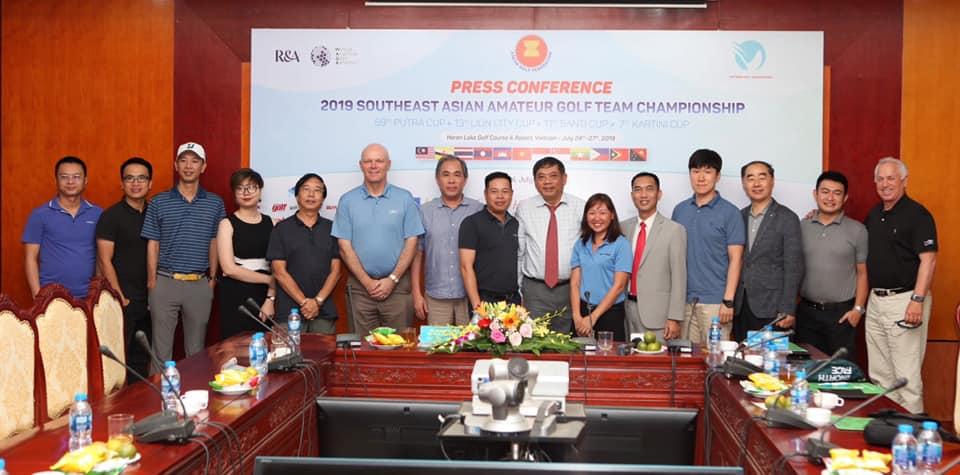 Lần đầu tiên Việt Nam là chủ nhà giải Vô địch Nghiệp dư Đồng đội Đông Nam Á