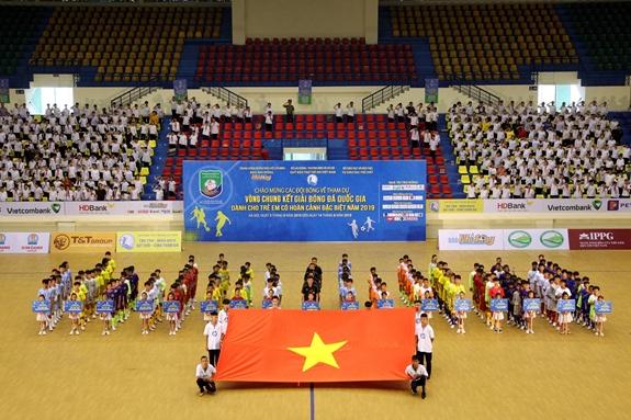 Khai mạc VCK giải Bóng đá QG dành cho trẻ em có hoàn cảnh đặc biệt 2019