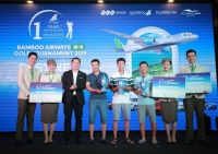 Kết quả ngày thi đấu đầu tiên giải Bambo Airways 18/8 Golf Tournament 2019