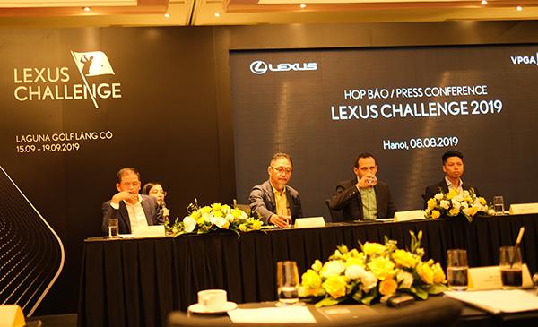 Giải golf chuyên nghiệp có tiền thưởng lớn nhất Việt Nam Lexus Challenge 2019 chuẩn bị khởi tranh