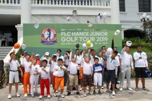 Khởi tranh vòng 4 giải FLC Hanoi Junior Golf Tour