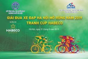 Các cua-rơ hào hứng với Giải đua xe đạp Hà Nội mở rộng 2019 tranh cúp HABECO