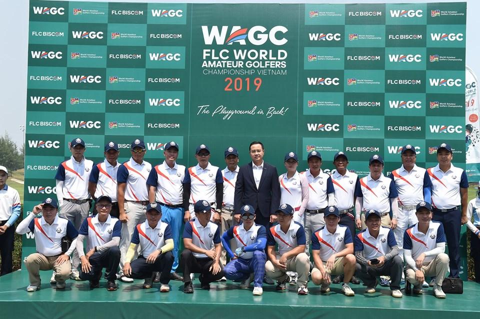 50 golfers chính thức tranh tài tại Chung kết FLC WAGC Vietnam 2019