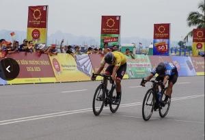 Chiến thắng trong gang tấc của Jordan Parra tại chặng 2 giải xe đạp quốc tế VTV