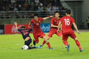 ĐT Việt Nam cầm hòa Thái Lan ở trận mở màn vòng loại World Cup 2022