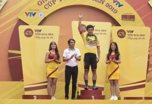 Cua rơ Hàn Quốc phô diễn sức mạnh nước rút ở giải xe đạp quốc tế VTV