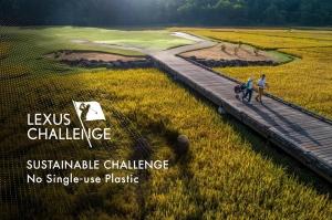 Hành động nhỏ nhưng mang ý nghĩa lớn tại giải golf Lexus Challenge 2019