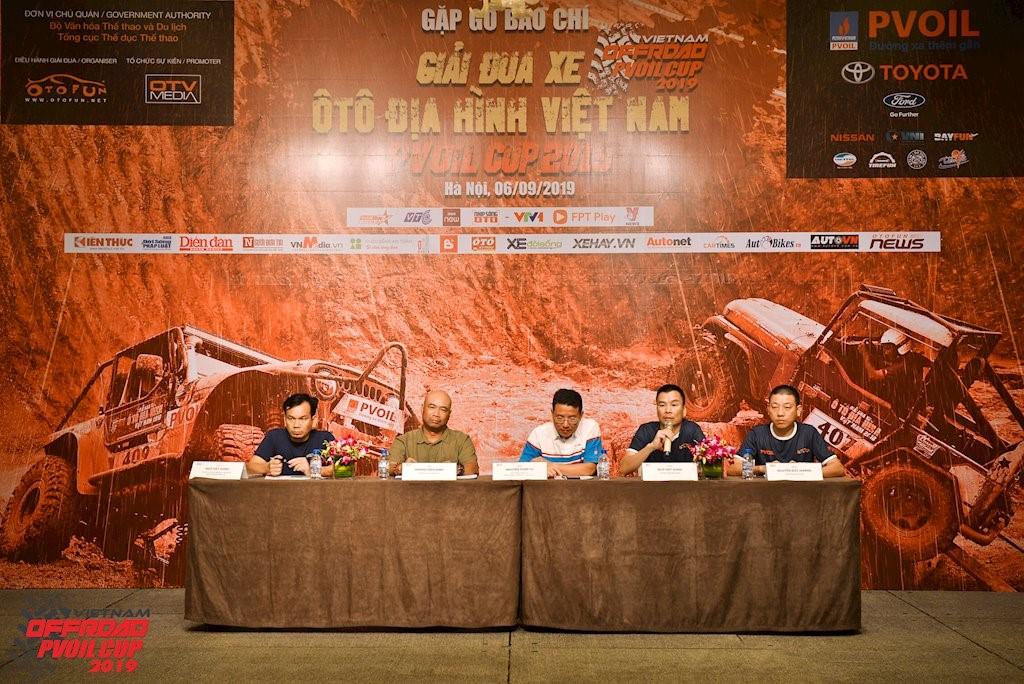 Chính thức công bố giải Đua xe Ô tô Địa hình Việt Nam PVOIL Cup 2019