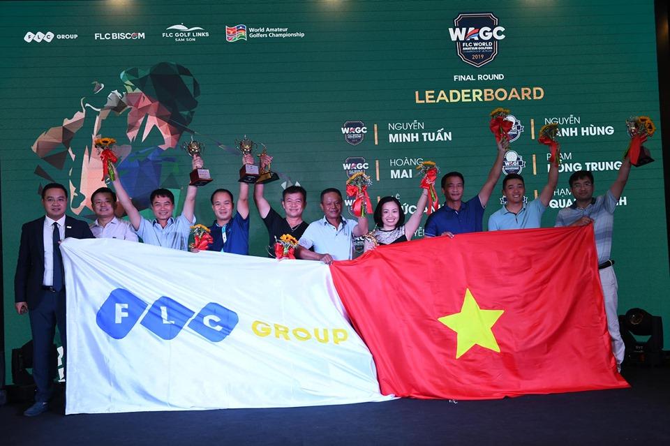 Tìm được 5 golfers Việt Nam dự giải golf nghiệp dư thế giới WAGC 2019