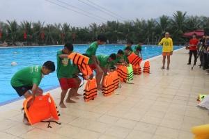 Một số trò chơi cho trẻ em thực hành các kỹ năng an toàn môi trường nước (Phần 1)