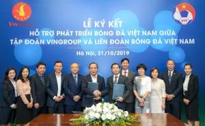 VINGROUP và VFF hợp tác chiến lược nâng tầm Bóng đá Việt Nam