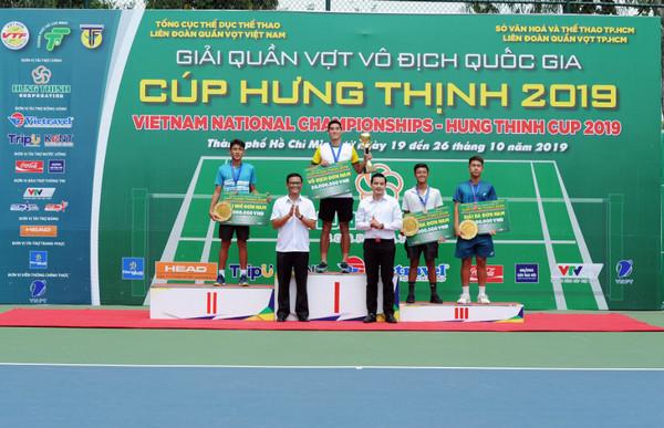 Hưng Thịnh – TPHCM thống trị ở giải quần vợt Vô địch Quốc gia 2019