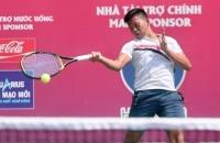 Lê Quốc Khánh lỡ hẹn với Lý Hoàng Nam ở giải quần vợt ITF World Tour